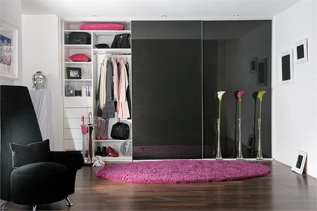 Sliding wardrobe doors