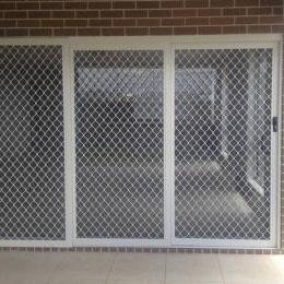 aluminium grille structure